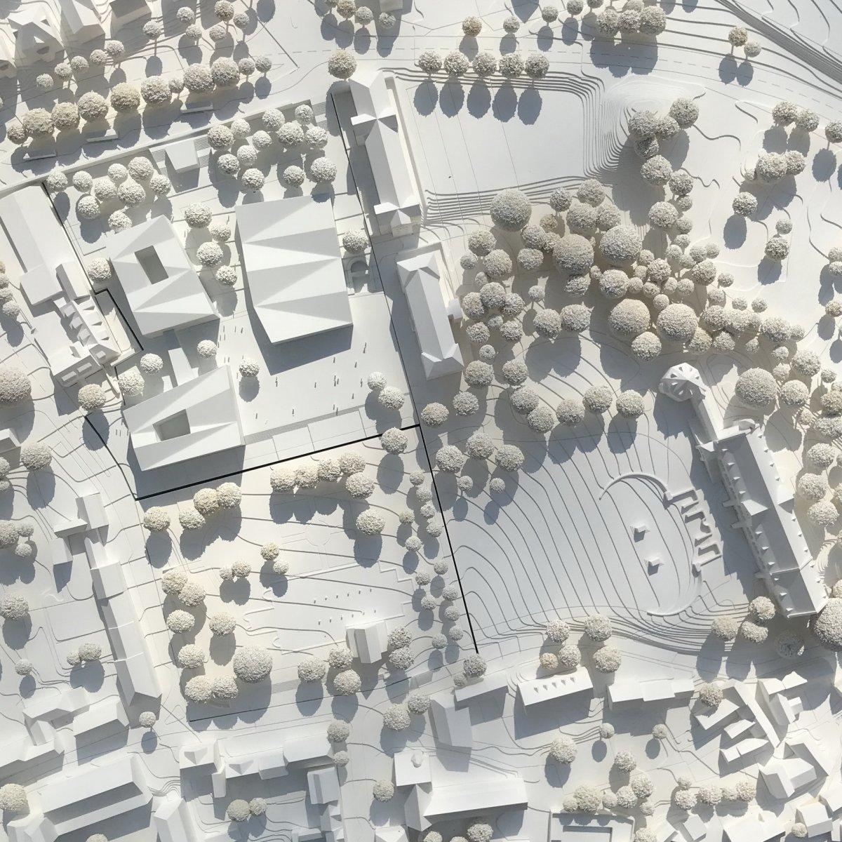 Auer Weber Architekten, Stuttgart mit Rainer Schmidt Landschaftsarchitekten, München