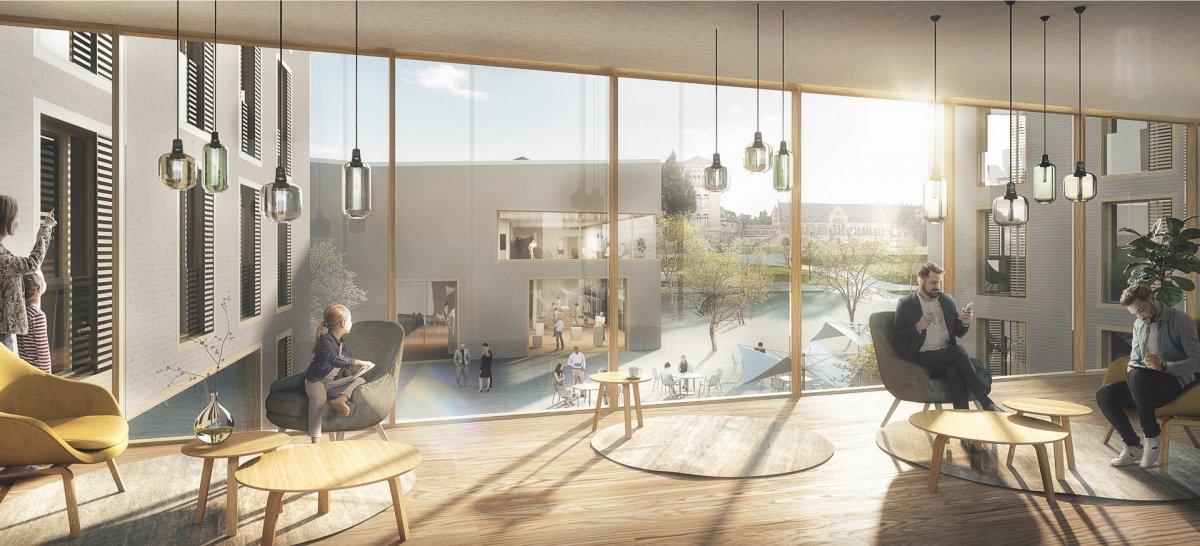 Visualisierung (Auer Weber Architekten, Stuttgart)