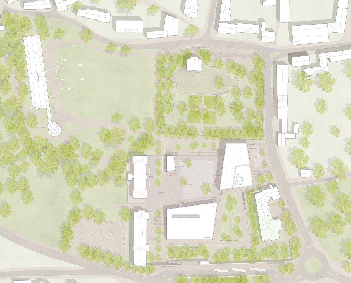 Lageplan (Bez + Kock Architekten, Stuttgart)