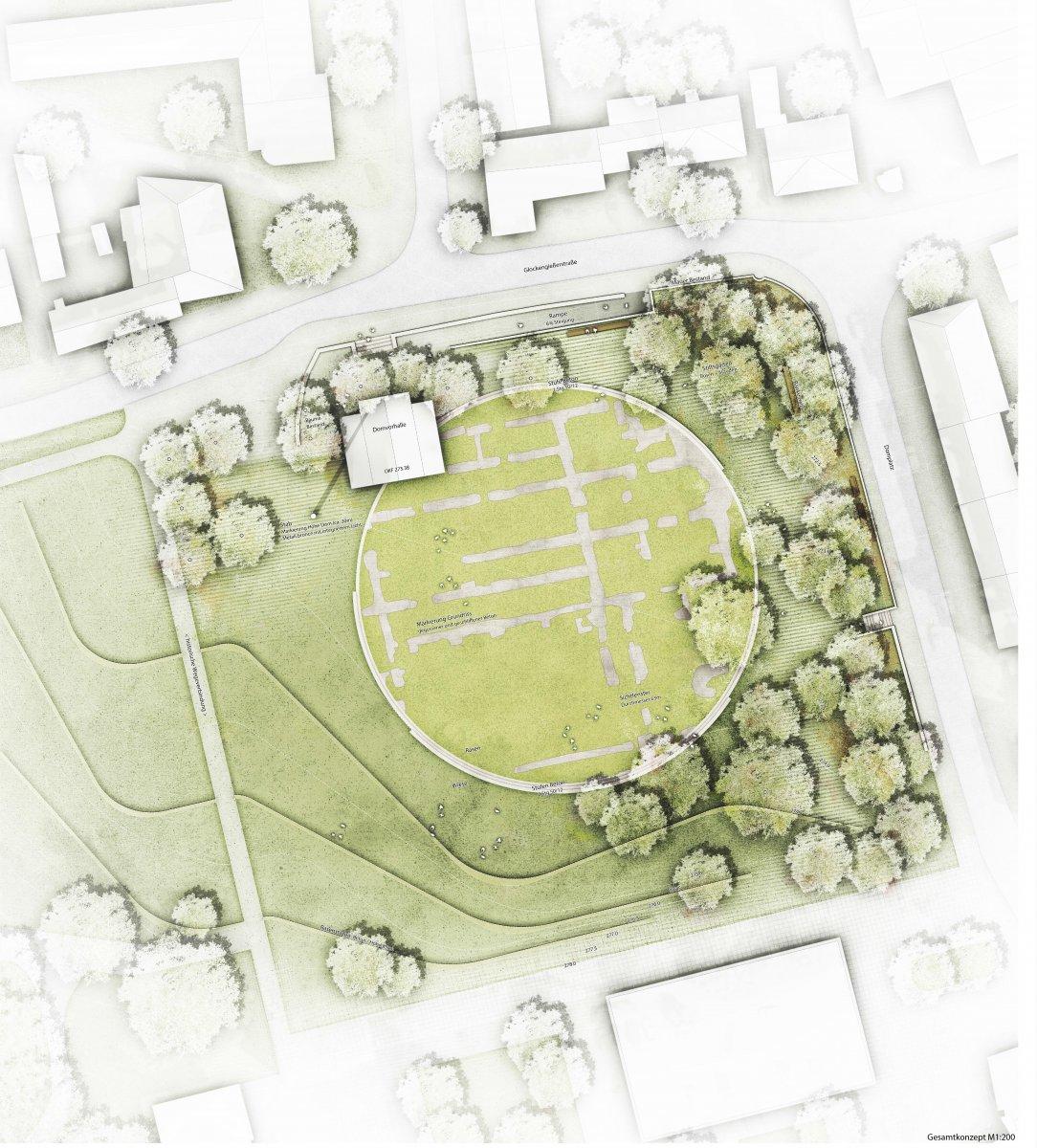1. Preis: nsp christoph schonhoff landschaftsarchitekten stadtplaner