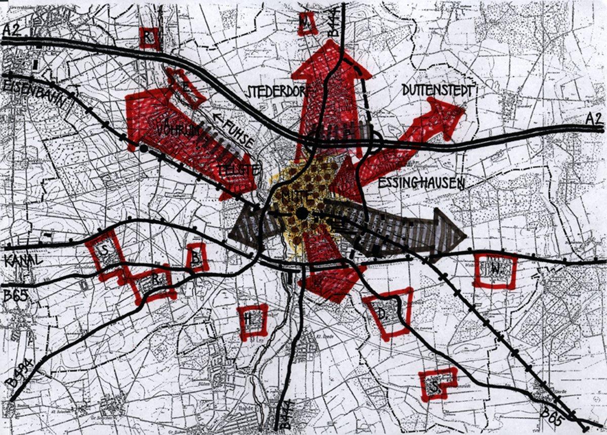 Räumliches Leitbild Siedlungsstruktur