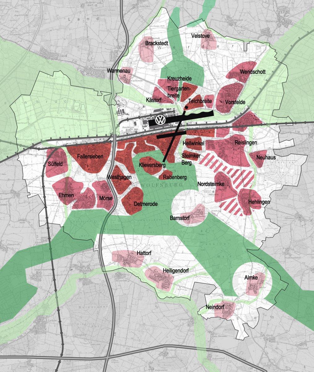 Leitbild Siedlungsstruktur