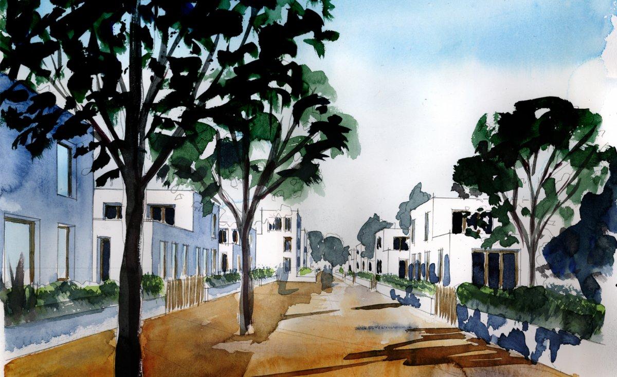 Blick 3: Wohnstraße