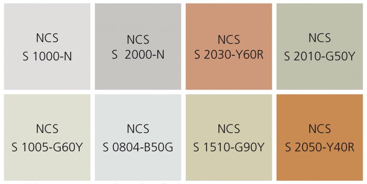 Farbkonzept zum Gestaltungshandbuch
