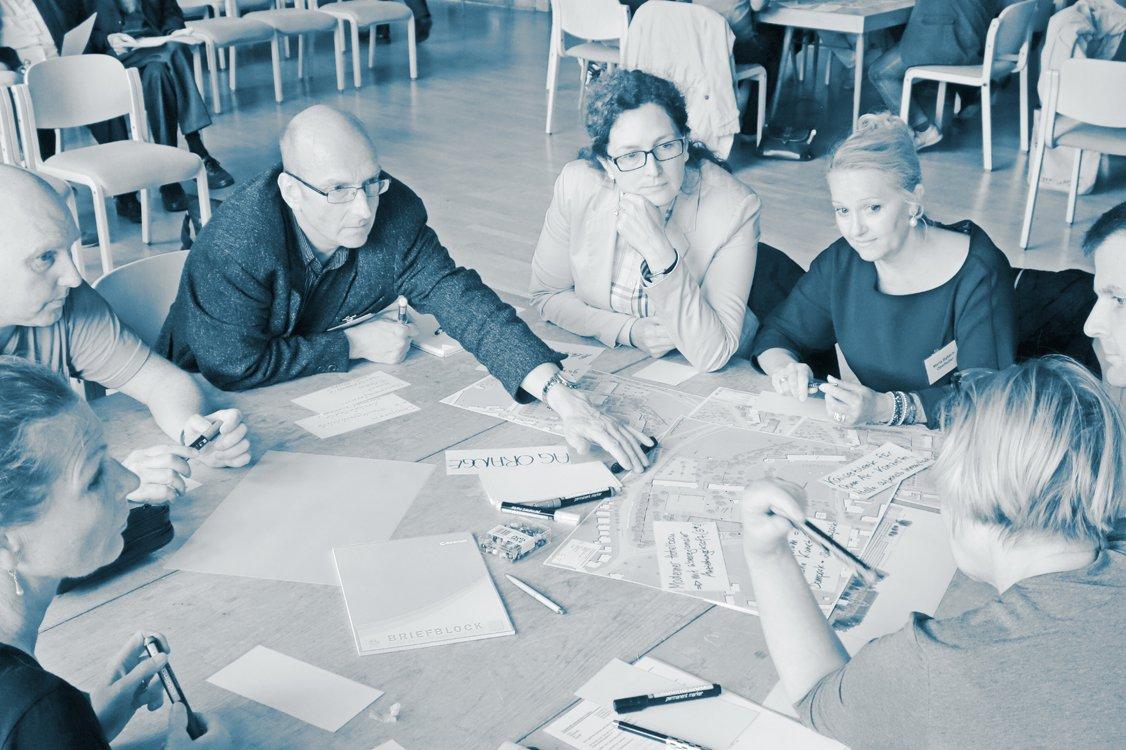 Werkstatt II: Arbeit in Gruppen