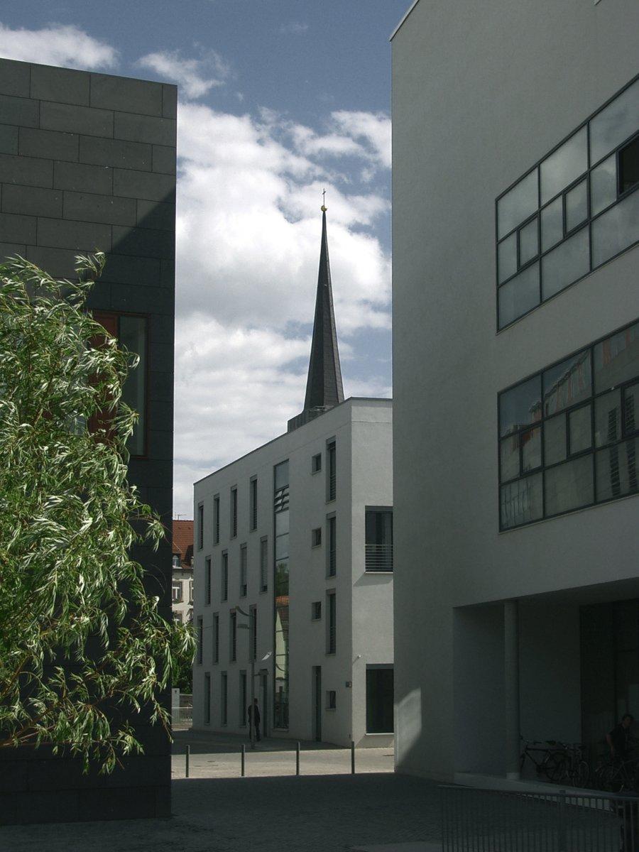Blickbeziehung Martinikirche