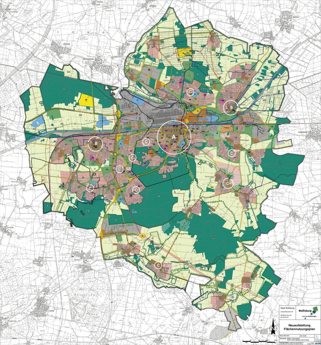 Ausschnitt Flächennutzungsplan