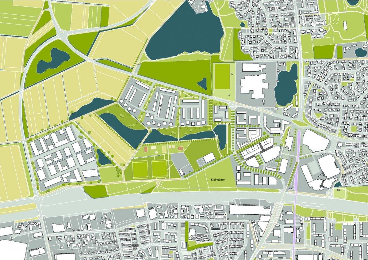 Städtebauliches Konzept für die »Neue Mitte Garbsen«