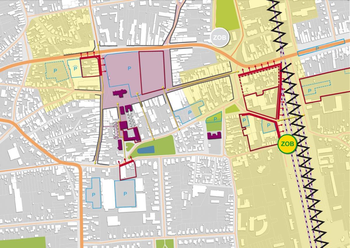 Analyse: Stadtgefüge (Ausschnitt)