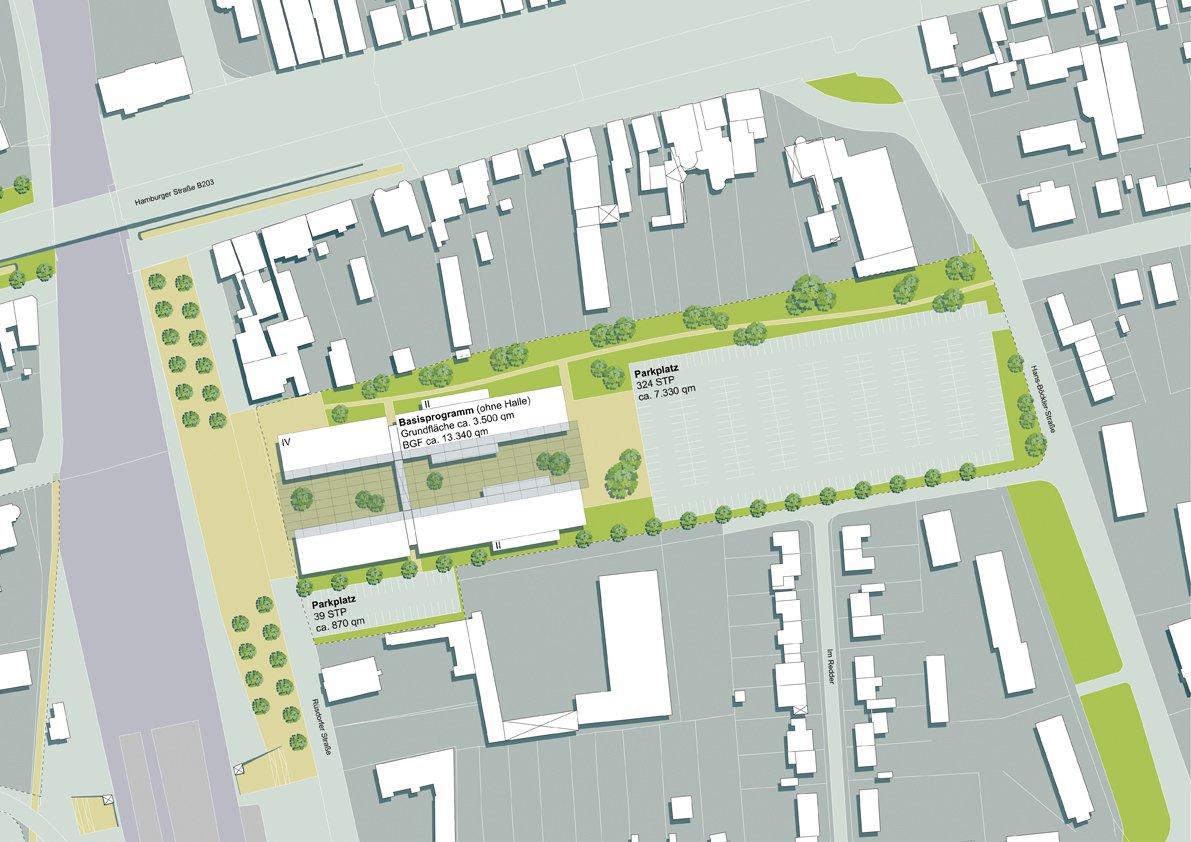 Konzept: Standort Ostseite Bahnhof