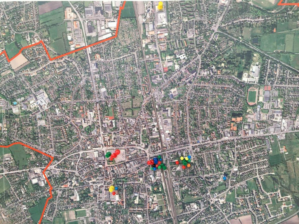Auftakttermin: Vorschläge für geeignete Standorte