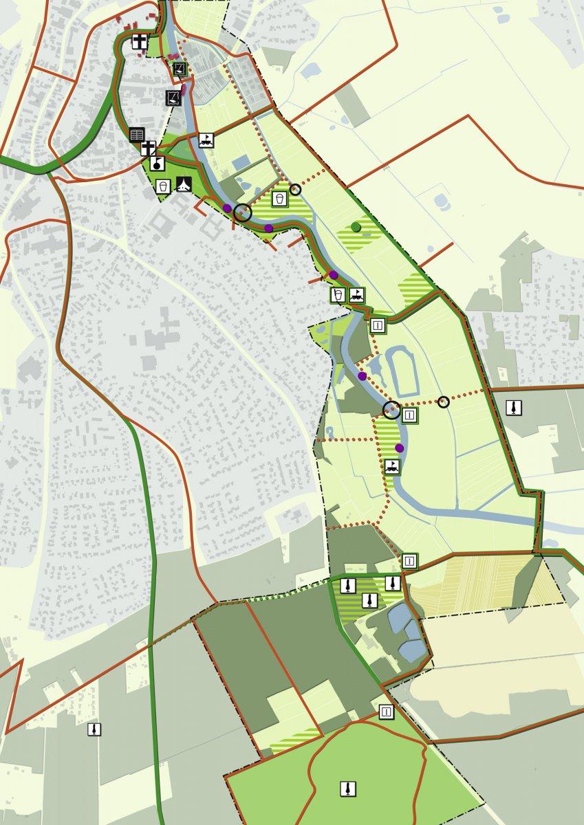 Quartierskonzept Grünes Band: Entwicklungspotentiale