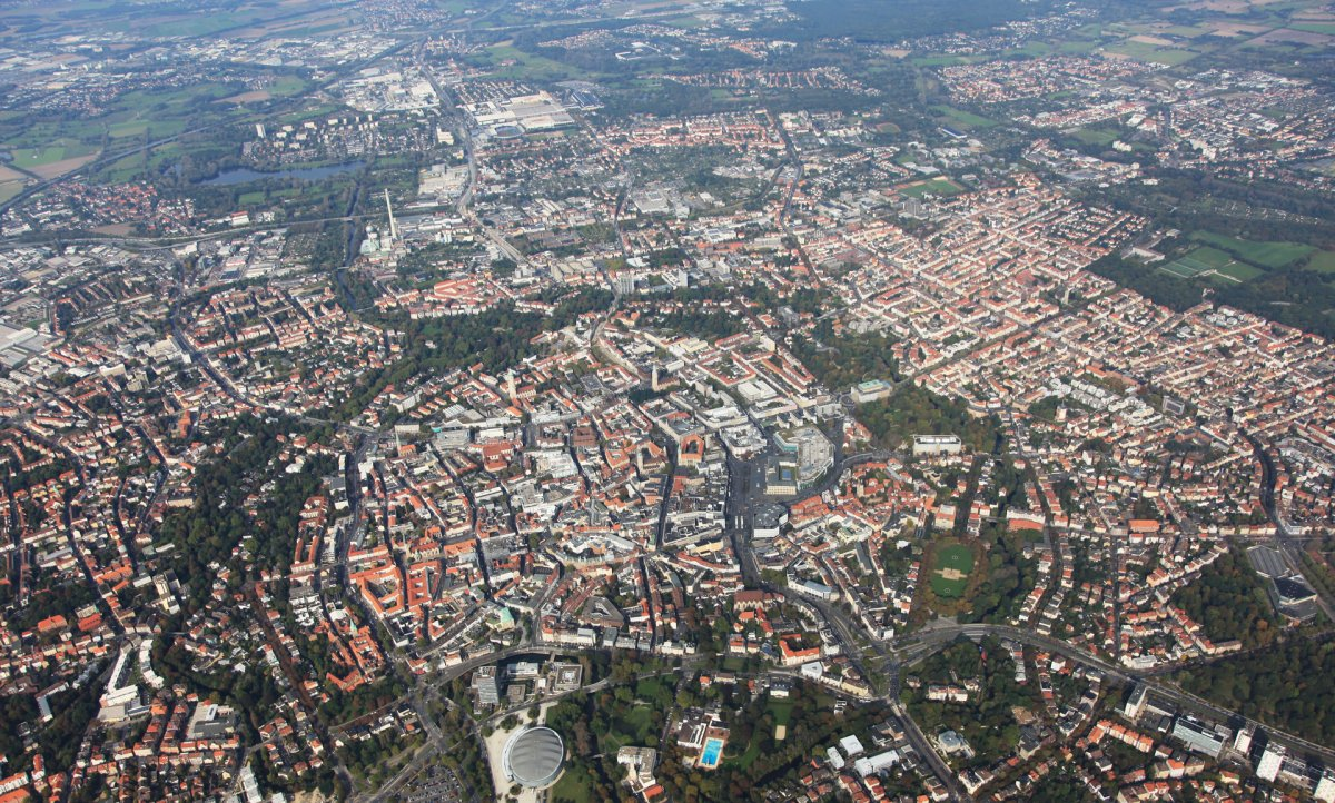 Braunschweig von Süden