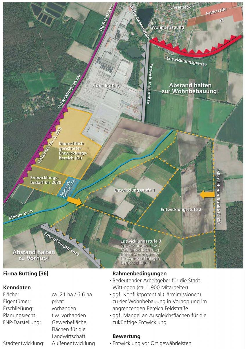 Steckbrief Gewerbe: Firma Butting, Knesebeck
