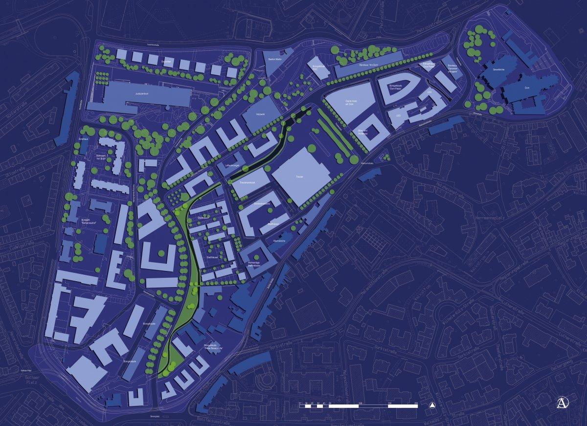 Städtebauliches Konzept Brühl