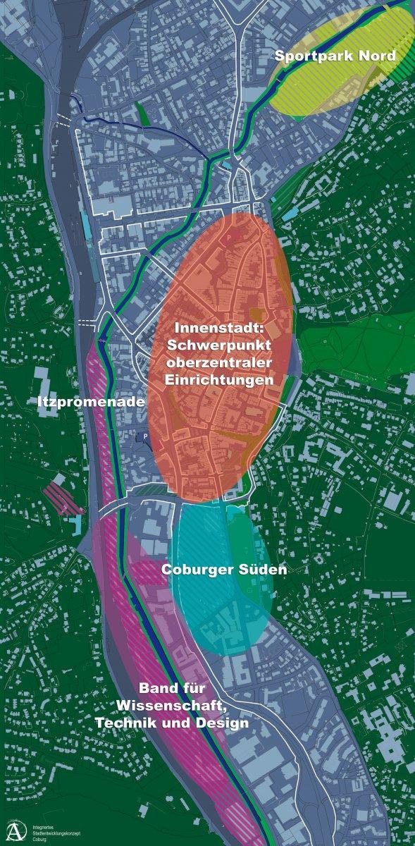 Oberzentraler Pol Innenstadt