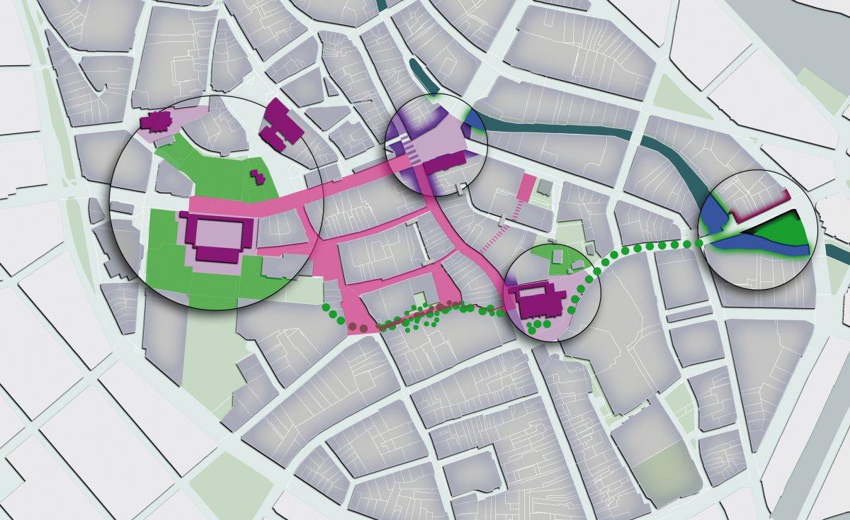 Empfehlung: Attraktives öffentliches Netz zwischen den Polen