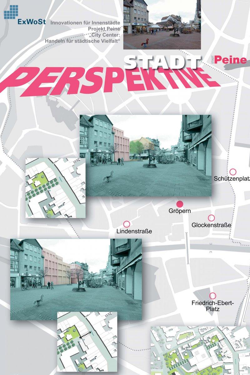 Stellwand: Perspektive Stadt