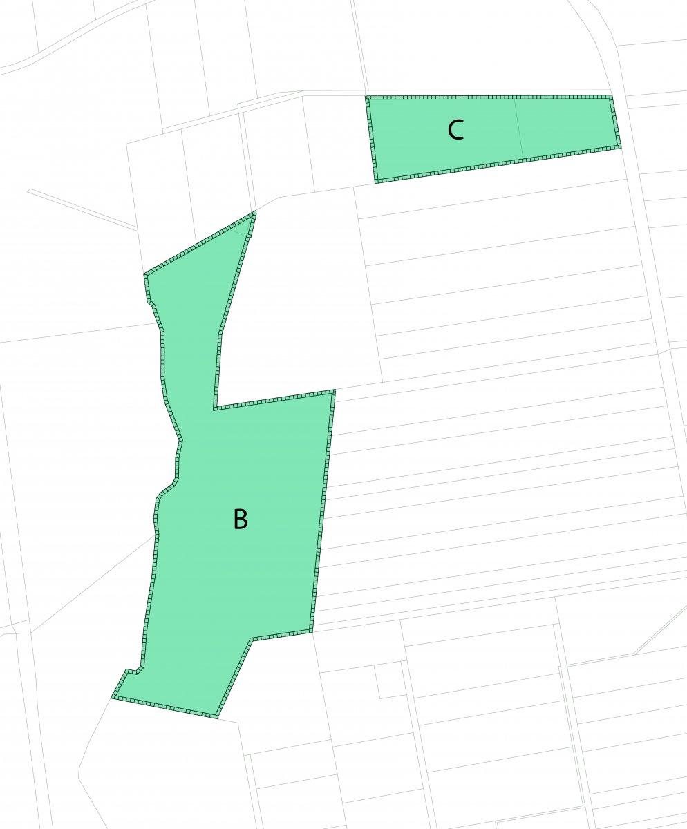 Ausgleichflächen Geltungsbereiche B und C