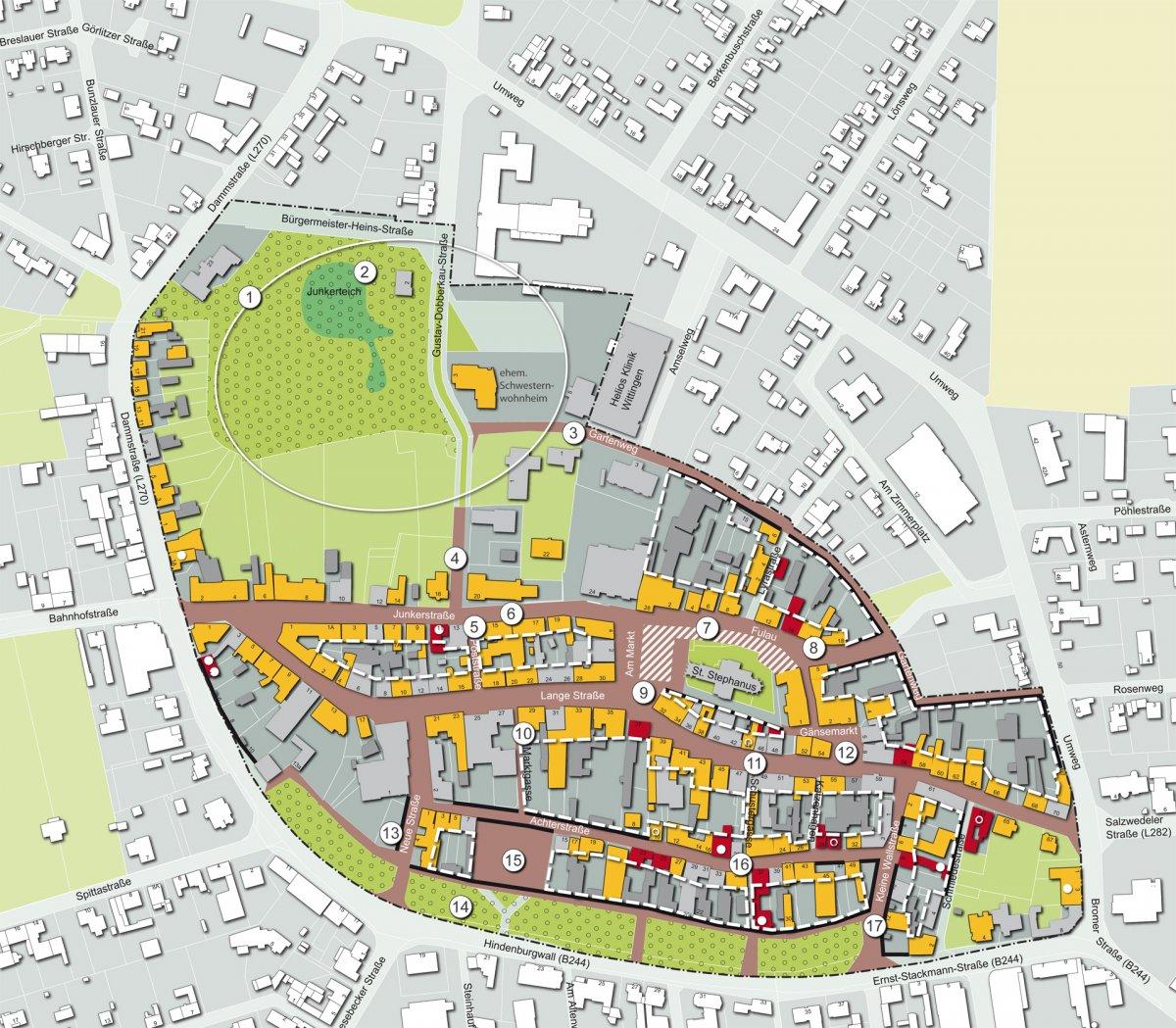 Maßnahmenplan für die Innenstadt