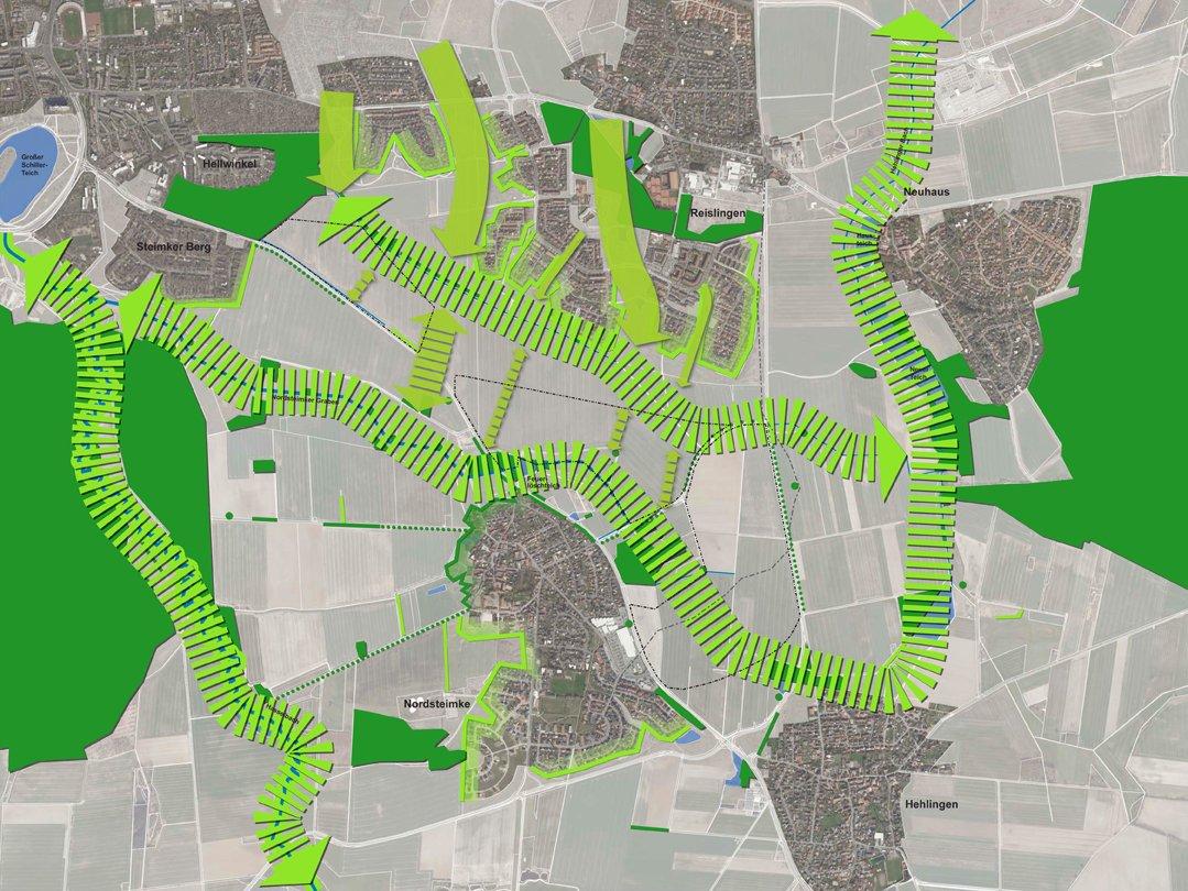 Vernetzung Stadt und Landschaft