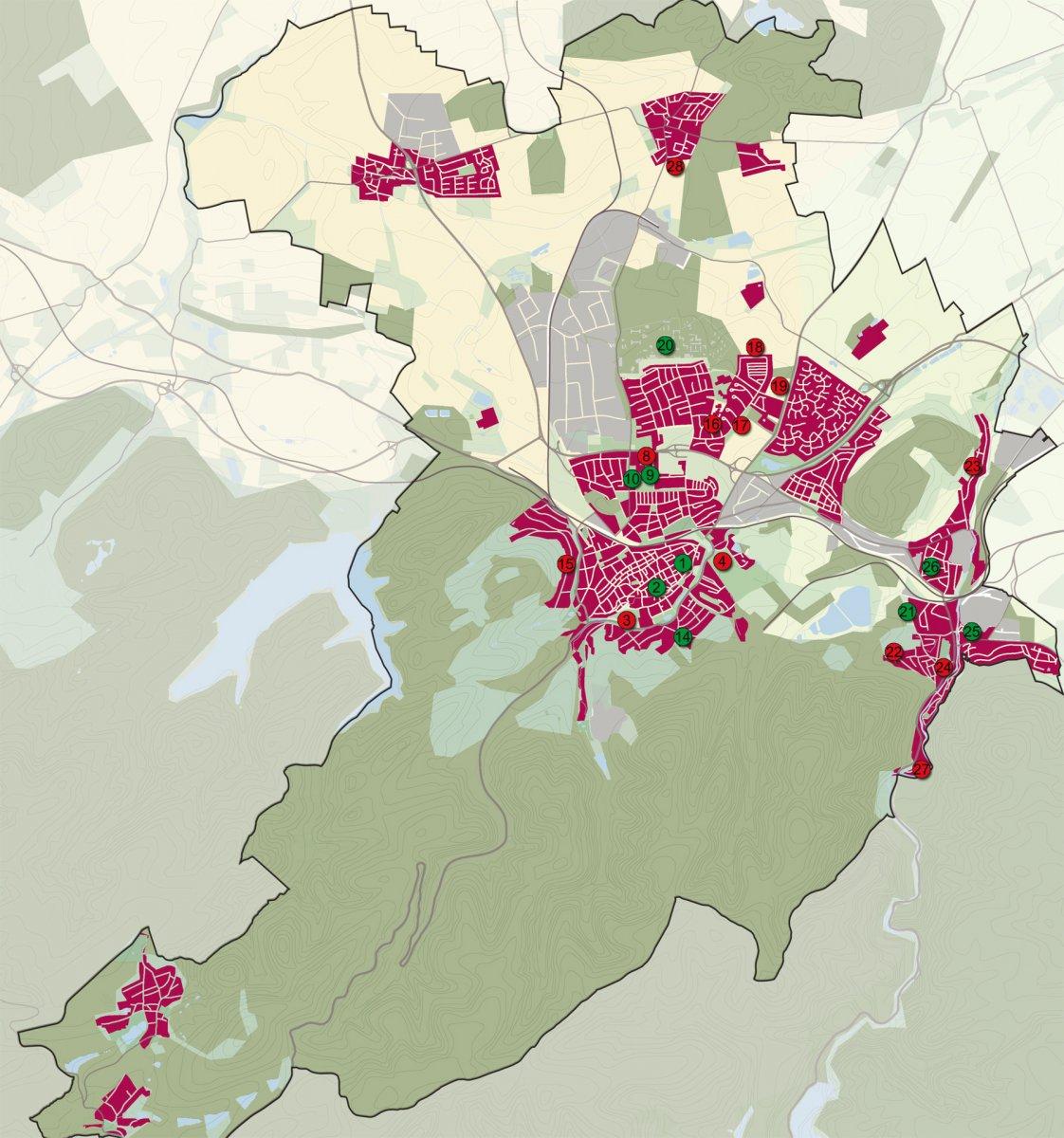 Bewertung der Wohnbaupotentiale